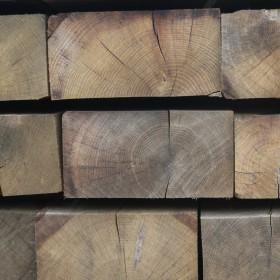 New Oak Sleepers Timber