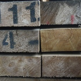 Softwood Sleepers Timber