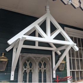 Painted Wooden Canopy Windows and Canopies