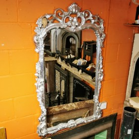 Ornate Silver Gilt Mirror Mirrors