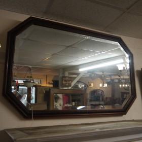 Mahognay Framed Mirror Mirrors