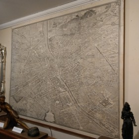 18th Century Map of Paris Maps, Paintings and Posters