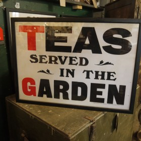 Teas Served In The Garden Maps, Paintings and Posters