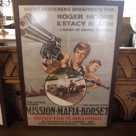 Scandinavian Film Poster - The Sicilian Cross Maps, Paintings and Posters