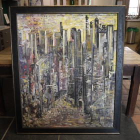 Large Cityscape Maps, Paintings and Posters