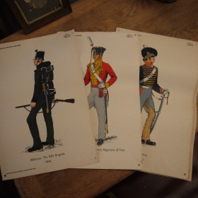 Military Uniform Prints Maps, Paintings and Posters
