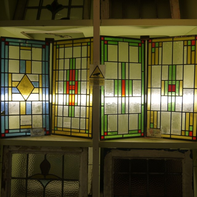 New Stained Glass Panels Stained Glass