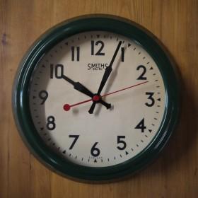 Smiths Green Clock Clocks