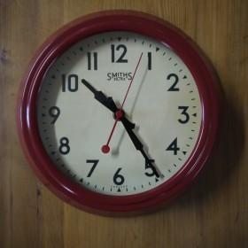 Smiths Red Clock Clocks