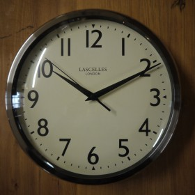 Lascelles Chrome Clock Clocks