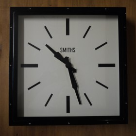 Smiths Large Square Wall Clock Clocks