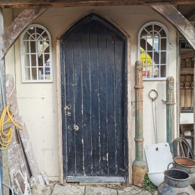 Arched Church Door Large Doors & Pairs