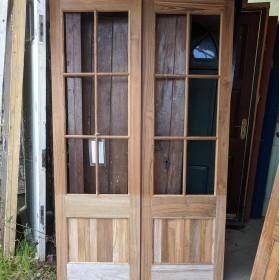 Hardwood French Doors Large Doors & Pairs