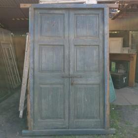 Blue Indian Doors Large Doors & Pairs