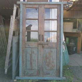 Glazed Indian Doors Large Doors & Pairs