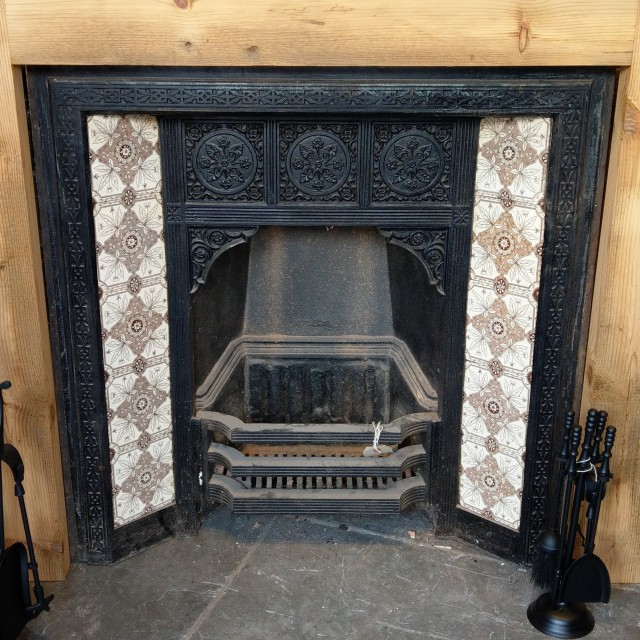 Late 19th Century Fire Insert (Complete) Inserts