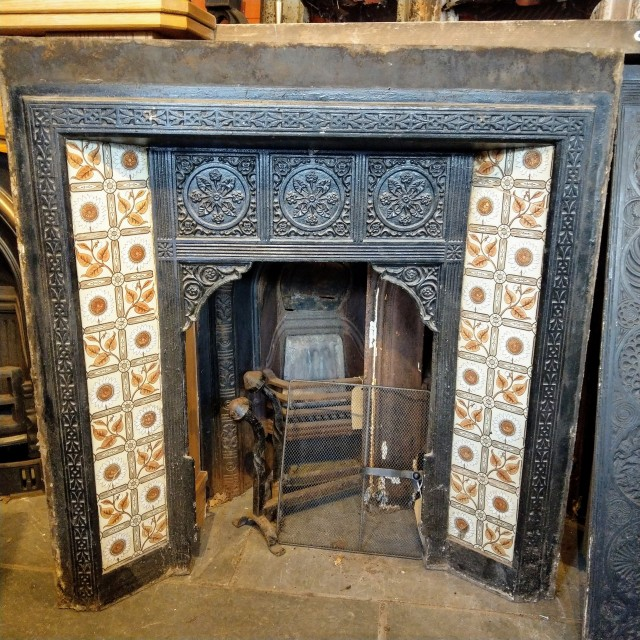 Late 19th Century Fire Insert (Incomplete) Inserts