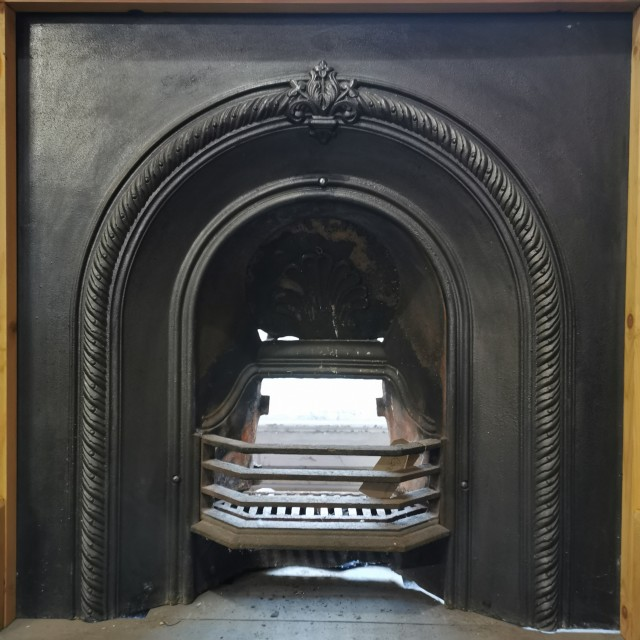 Cast Iron Fire Insert with Grate Inserts