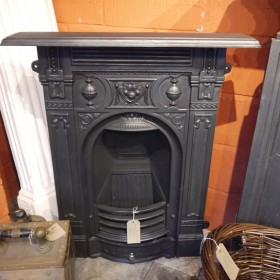 Small Reproduction Combi Fireplace Inserts