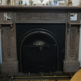 Carved Wood Fire Surround Fire Surrounds and Overmantles