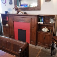 Edwardian Oak Surround Bargains