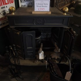 Colonial Style Woodburner Woodburners
