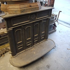 Solid door Woodburner Woodburners