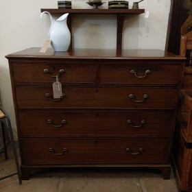 19th Century Mahogany Chest of Drawers Bedroom Furniture