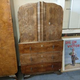 Art Deco Tallboy Bedroom Furniture