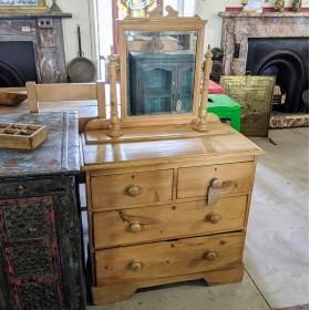 Pine Dressing Table Bedroom Furniture