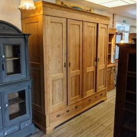 Huge Pine Wardrobe Bedroom Furniture
