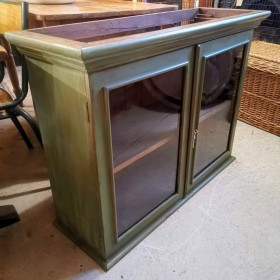 Glazed Wall Cabinet Cupboards and Larders