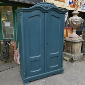 Teal Painted Hall Cupboard Cupboards and Larders