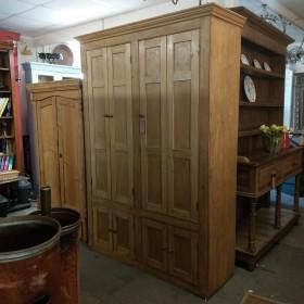 Restored Victorian Pine Larder Cupboards and Larders