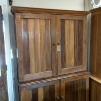 Oak Larder with Pine Interior Cupboards and Larders