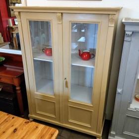 Glazed Larder/Display Cabinet Cupboards and Larders