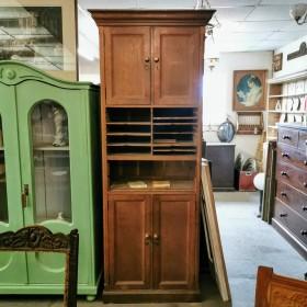 """7ft3"""" French Oak Cupboard Cupboards and Larders"""