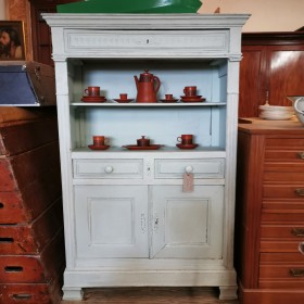 Large Painted Cupboard Cupboards and Larders