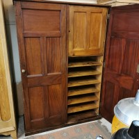 Old Post Office Cupboard Cupboards and Larders