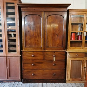 Victorian Compactum/Linen Press Cupboards and Larders