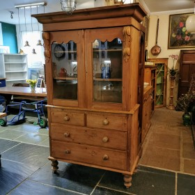 Large Glazed Cabinet Cupboards and Larders