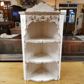 Painted Corner Cabinet Cupboards and Larders