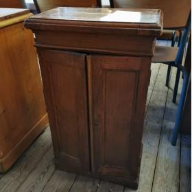 Small Mahogany Cabinet Stock