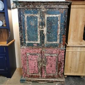 Rustic Painted Cupboard Cupboards and Larders
