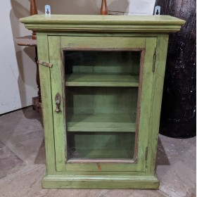 Green Wall Cabinet Cupboards and Larders