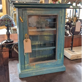 Blue Wall Cabinet Cupboards and Larders