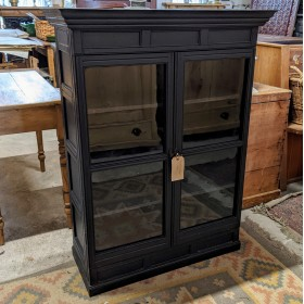 Painted Glazed Wall Cabinet Cupboards and Larders