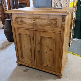 Cupboard with Drawer Cupboards and Larders