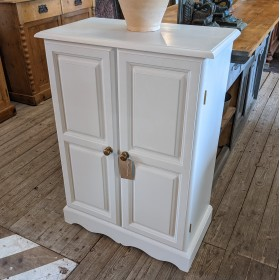 Painted Pine Cupboard Cupboards and Larders