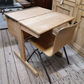 Child's Desk & Chair Wooden Chairs